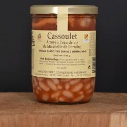 Cassoulet Arrosé à l'eau de vie de Mirabelle de Lorraine - 750g