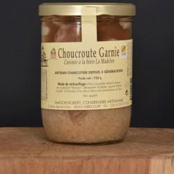 Choucroute Garnie cuisinée à la bière La Madelon - 750g