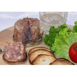 Terrine de campagne au pain d'épices