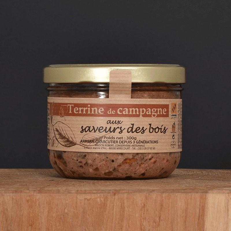 Terrine de campagne aux saveurs des bois - 300g