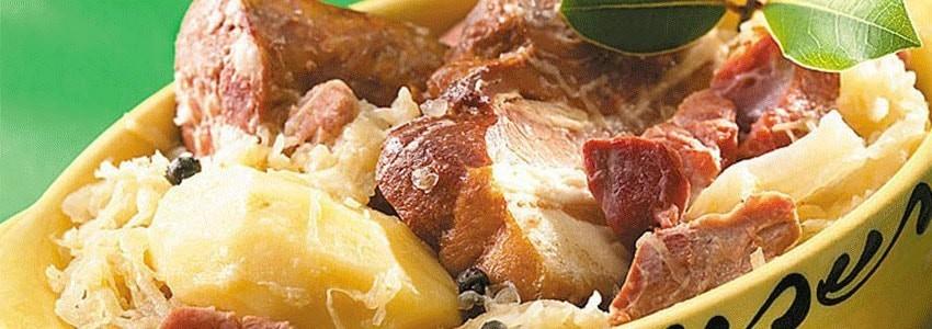 Catégorie Plats cuisinés - MAISON ROBERT : Baeckeoffe Traditionnel - 750g , Cassoulet Arrosé à l'eau de vie de Mirabelle de ...